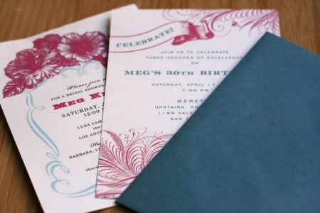 DIY wedding invitations Here at APW we have a number of sponsors that sell