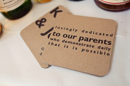 Detail To Love: Custom Coasters via TheELD.com