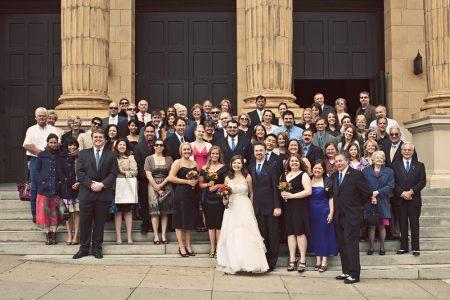 indie church wedding