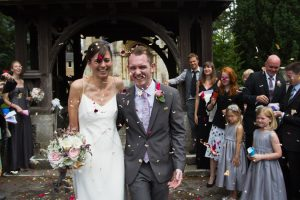 Simple British Church Wedding
