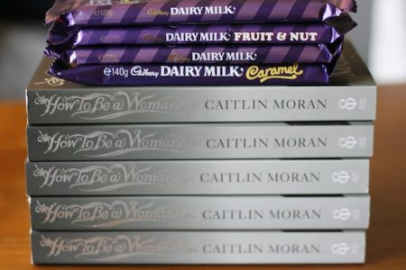 Caitlin Moran How To Be A Woman plus Chocolate