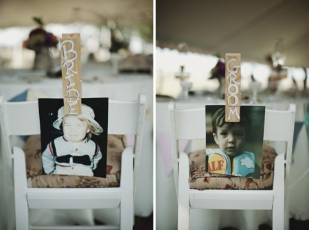 bride groom wedding chairs