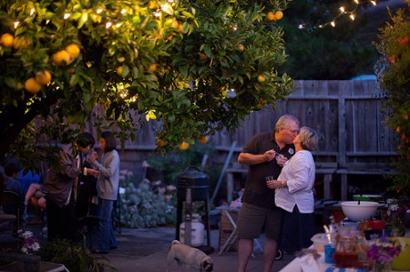 Bay Area Backyard Wedding, Pug Ring Bearer, Second Weddings