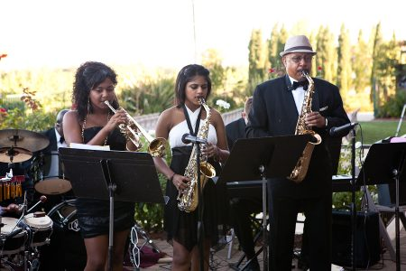 jazz band wedding