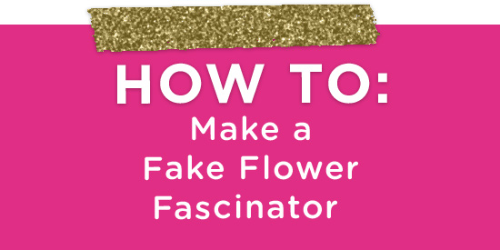 DIY Wedding Fascinator Hair Flower (3)
