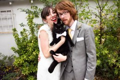 South Austin Musicians' Wedding Featuring Meatwad the Cat (31)