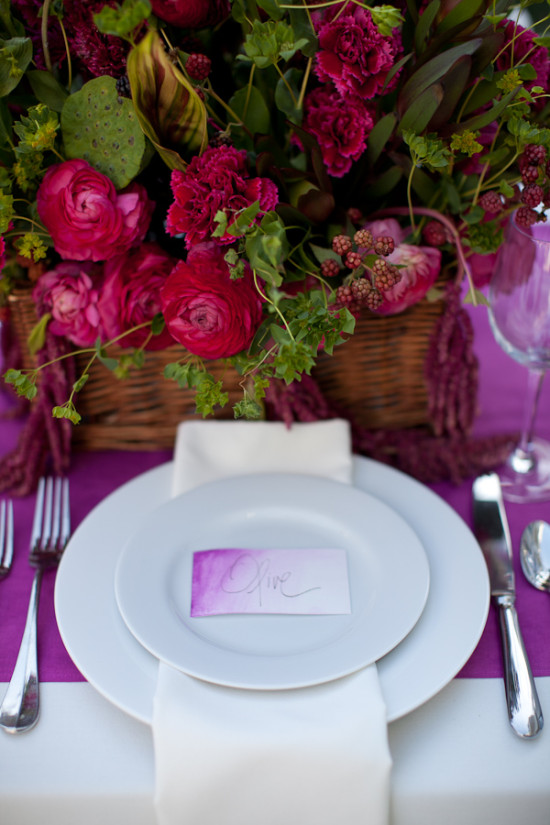 Hot Pink Wedding Decor, Pink Tablescape, Pink Centerpiece, Emily Takes Photos (4)