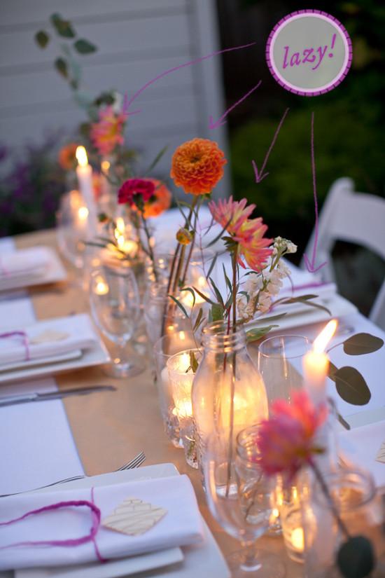 blog simple flower centerpieces