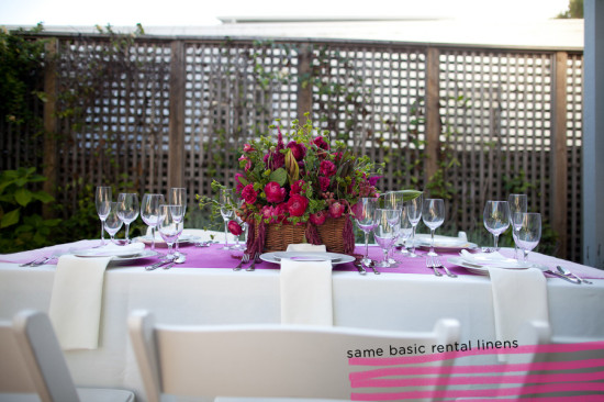 Hot Pink Wedding Decor, Pink Tablescape, Pink Centerpiece, Emily Takes Photos (21)