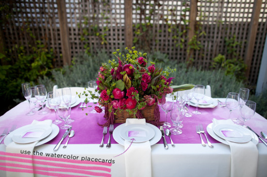 Hot Pink Wedding Decor, Pink Tablescape, Pink Centerpiece, Emily Takes Photos (20)