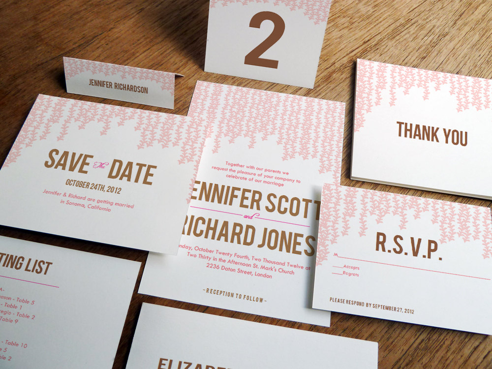 Printing Paper For Wedding Invitations: E.m. Papers: Instant And Affordable Wedding Stationery