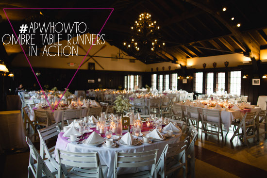APWHowTo: Fifteen Ombre Table Runners Completed « A Practical ...
