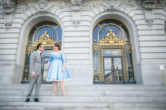 SF City Hall, Courthouse Wedding, Restaurant Reception